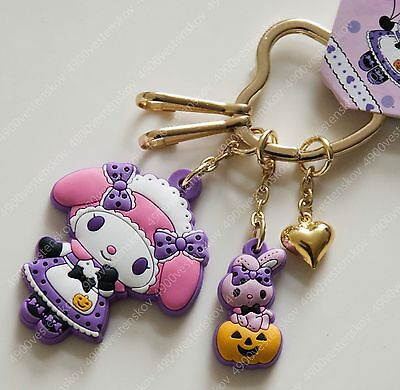 Sanrio My Melody cute lolita dress pumpkin halloween keychain Pendant