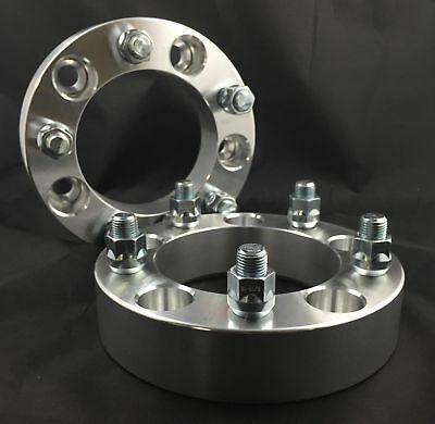 2pc 1 Inch Wheel Spacers¦ 5x5.5 To 5x5.5 ¦ 1/2 UNIF For Dodge Ram 1500 Durango