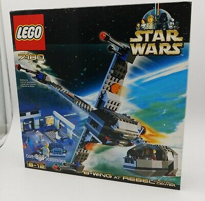 Lego Star Wars B-Wing at Rebel Control Center (7180) Missing 1 small saw Piece