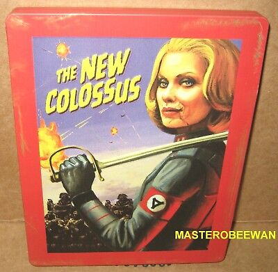 Wolfenstein II: The New Colossus Game + Steelbook + Poster (PlayStation 4, 2017)