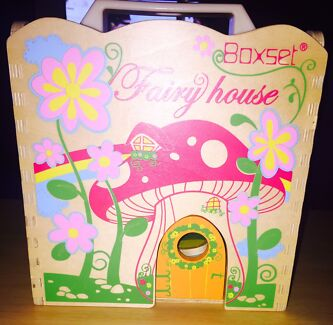 Tiger Tribe Fairy House Boxset  - little dolls! SOLD