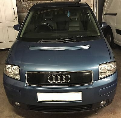 AUDI A2 14 AUA Engine 2000 2005 breaking all parts available atlantik blue LZ5R