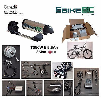 350W Electric Bicycle E Bike conversion Kit Front Hub Motor rim Li-Ion Battery