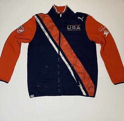 PUMA USA 1990 Championship Soccer Jacket SZ L