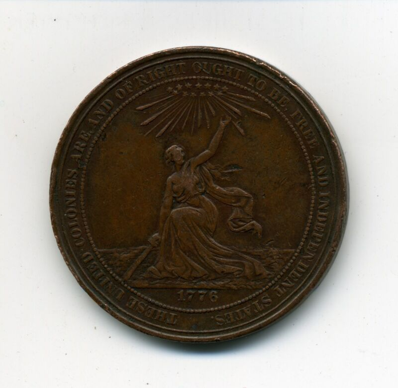 U.S. Centennial Exhibition So-Called Dollar HK-21 Bronze Medal