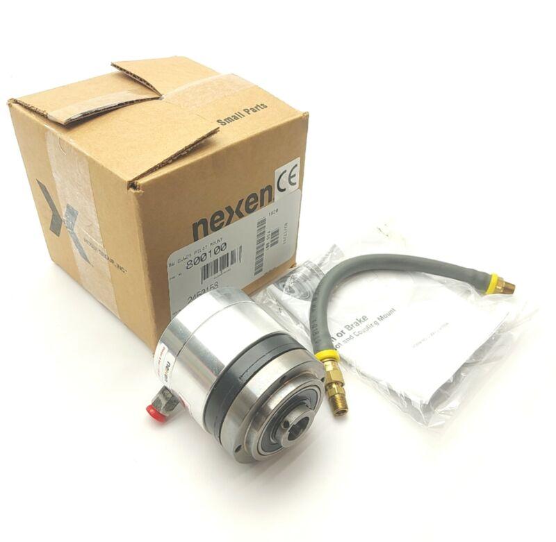 """NEXEN BW 800100 Pneumatic Single Plate Clutch 5/8"""" Bore 3600RPM 100in-lbs 80PSI"""