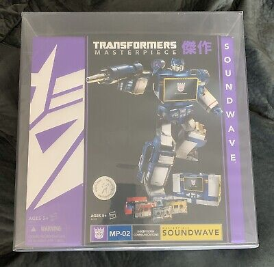 Transformers Toys R Us Masterpiece Soundwave AFA 9.0U Uncirculated MP-02 TRU