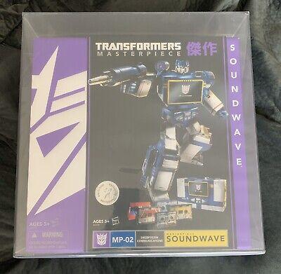 Transformers Toys R Us Masterpiece Soundwave AFA 9.0U Uncirculated MP-02 TRU
