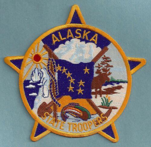ALASKA STATE TROOPER SHOULDER PATCH