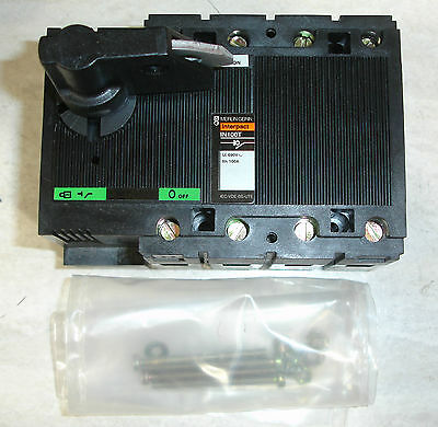 New Merlin Gerin Interpact In100t 4 Pole Disconnect Switch 100 Amp Acdc 690 V