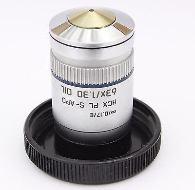 Leica Hcx Pl S-apo 63x 1.30 Oil Infinity Microscope Objective Planapo Apo