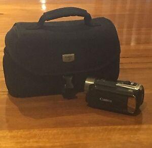 Canon legria HF R18 + case Kuraby Brisbane South West Preview