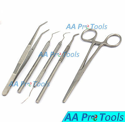 Aa Pro London Tweezers Sickle Scaler Single Ended And Probe 9 Kelly Forceps