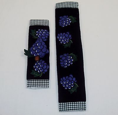 Grape Handle Covers ~ CASE LOT 60 UNITS ~ For Use On Fridge, Oven, Microwave