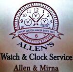 ALLEN'S WATCH & CLOCK SERVICE