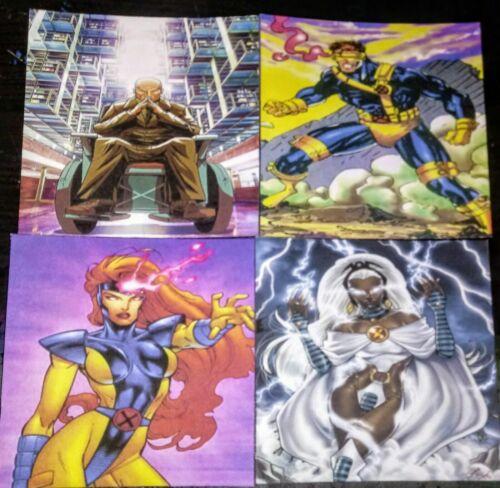 Marvel X - Men Custom Coasters - Cyclops, Charles Xavier, Jean Grey , Beast ....