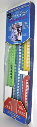 Provo Crafty Kniffy 4 Piece Long Loom Series Set Open Box