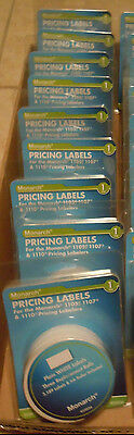 Lot Of 9 3 Pack Rolls Plain White Pricing Labels Monarch 1105 1107 1110 925036