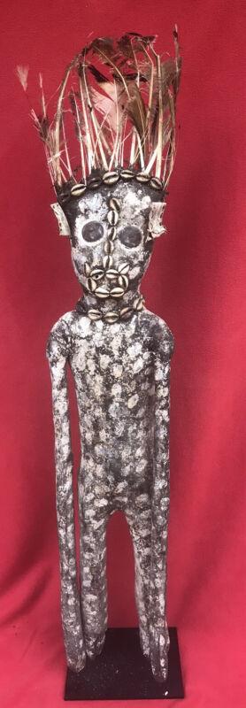 Senufo Tribe Haunting Kafigeledjo Oracle Bush Spirit Figure ~ Ivory Coast