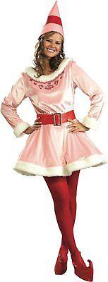 Elf Movie Jovi Deluxe Adult Womens Costume Christmas Licensed](Christmas Costum)