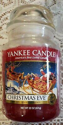 Yankee Candle Christmas Eve 22 oz Large Jar Candle lightly Used!