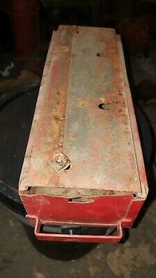 Massey Harris 44 Tractor Floor Board Tool Box Drawer Complete Mh 44s Oem