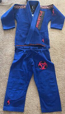 Jiu-Jitsu Freestyle Customs Kimono Blue Jiu Jitsu Gis Size M1