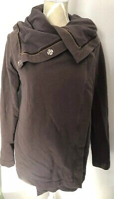Lululemon Button Up Wrap Brown Size 6