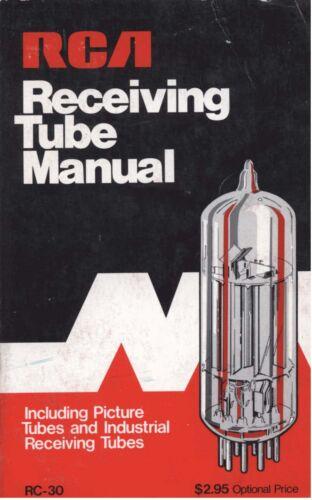 RCA Receiving Tube Technical Series RC-30 - 1975