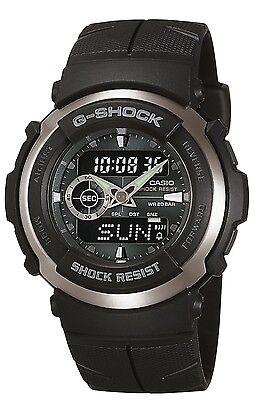 Casio Men's G300-3AV G-Shock Analog-Digital Black Street Rider Watch