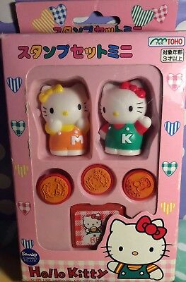 A Very Rare  Vintage Sanrio Hello Kitty Stamp Set From 1997 PreOwned Read  ()