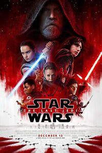 Star Wars: The Last Jedi - 3 Tickets