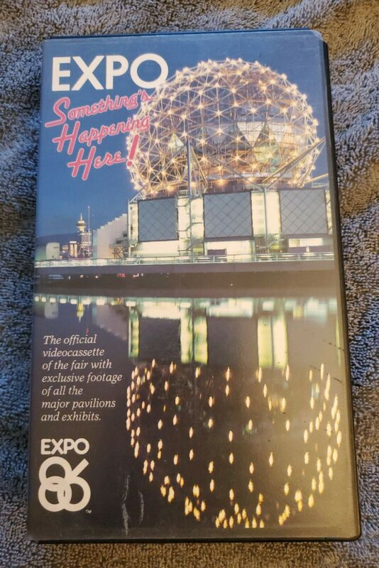 Expo 86 Vancouver VHS Somethings Happening Here RARE