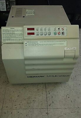 Midmark M11 Ultraclave Dental Steam Autoclave Sterilizer For Instruments