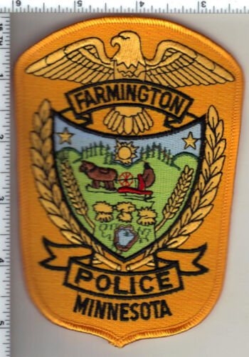 Farmington Police (Minnesota)  Shoulder Patch new 1992