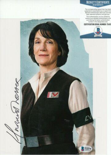 HARRIET WALTER signed (STAR WARS THE FORCE AWAKENS) 8X10 photo BAS BECKETT #1