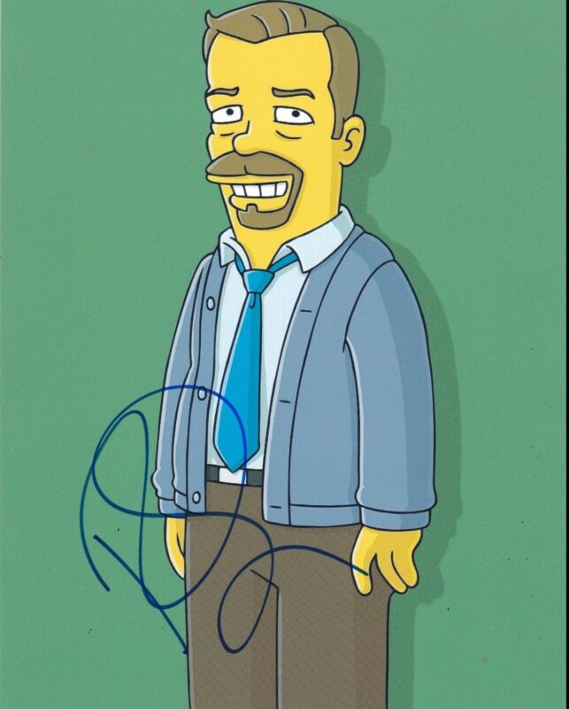 RICKY GERVAIS SIGNED 8X10 PHOTO AUTHENTIC AUTOGRAPH THE SIMPSONS THE OFFICE COA