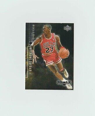 MICHAEL JORDAN 1998-99 Upper Deck Black Diamond # 3 Bulls Foil NM