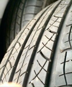 2 Michelin 225 65 17  Made in USA Very good condition