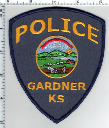Gardner Police (Kansas) 2nd Issue Shoulder Patch