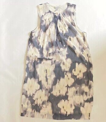 NWT Hm H&M Dress In Gray And White in US 10