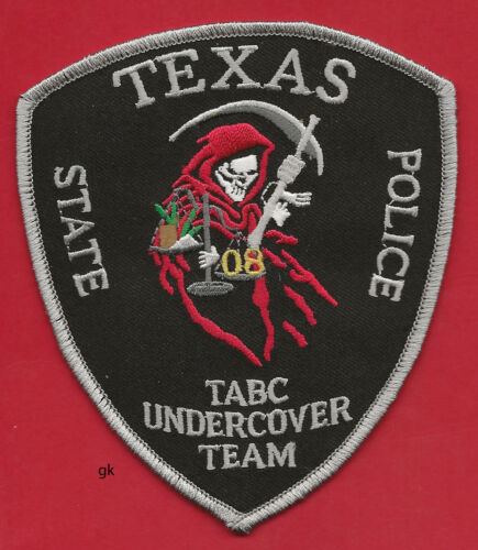 TEXAS ALCOHOLIC BEVERAGE COMMISSION UNDERCOVER TABC TEAM PATCH