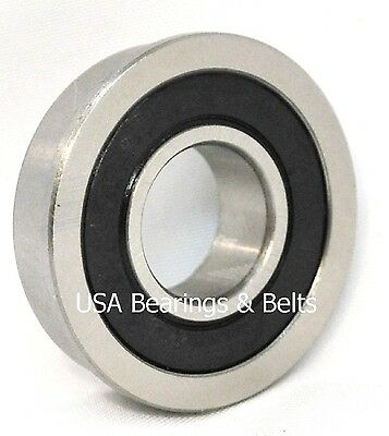 Qty 4 Fr8rs Fr8-2rs Sealed Flanged Bearings Abec 3 12 X 1-18