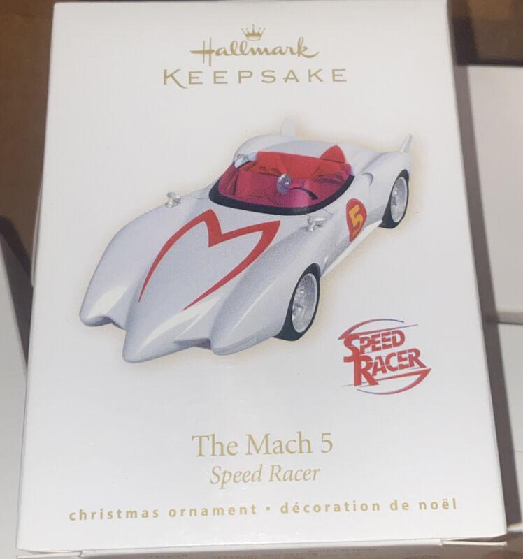 Hallmark Speed Racer Mach 5 Ornament 2008
