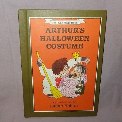 Arthurs Halloween Costume Hardcover Book 1984 Weekly Reader Children - Arthur's Halloween Books