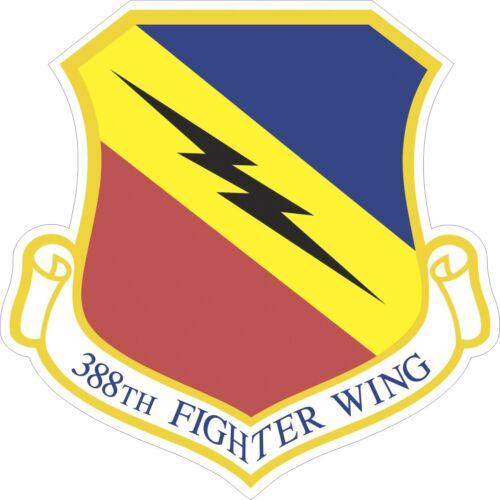 "Air Force Emblem Reflective Decal Bumper Sticker 3.875/"" x 3/"" U.S"
