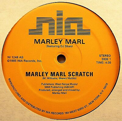 "MARLEY MARL Scratch VINYL 12"" Electro Old School Rap Hip Hop MC Shan RARE DJ"