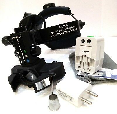 Free Shipping Led Indirect Ophthalmoscope With Accessories Led Binocular