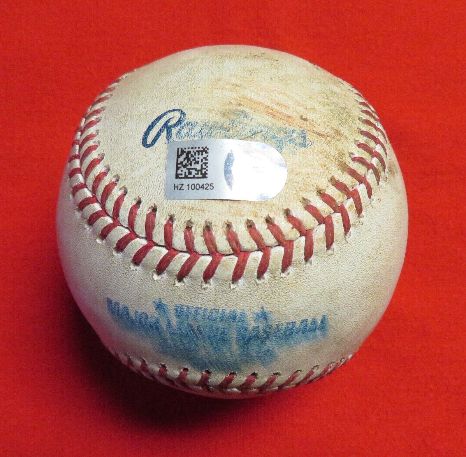 JOSH HAMILTON PID JACOB PETRICKA 6/7/14 MLB Game Used ANGELS White Sox RANGERS - $11.50