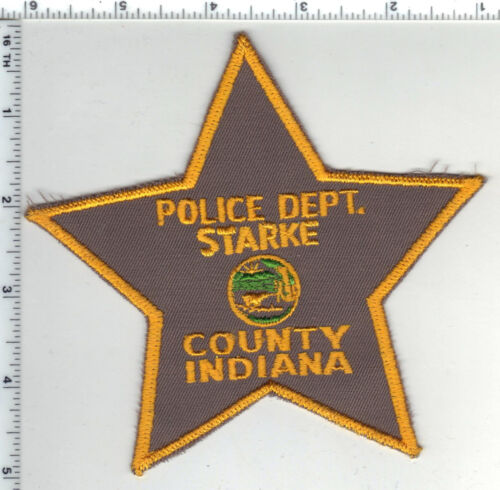 Starke County Police Department (Indiana) Shoulder Patch - new from the 1980s